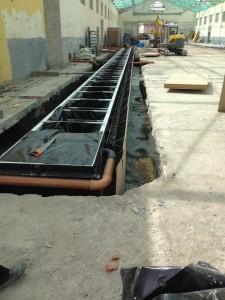 Tuve PVC 110mm pour couverture de fosse